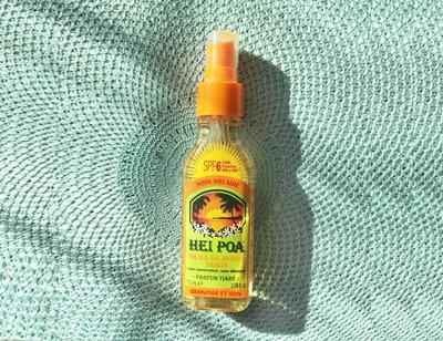 Sun Oil SPF 6 Tiare