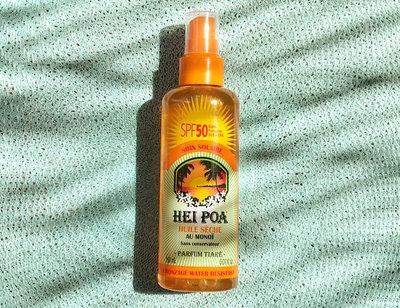Sun oil SPF 50 tiare